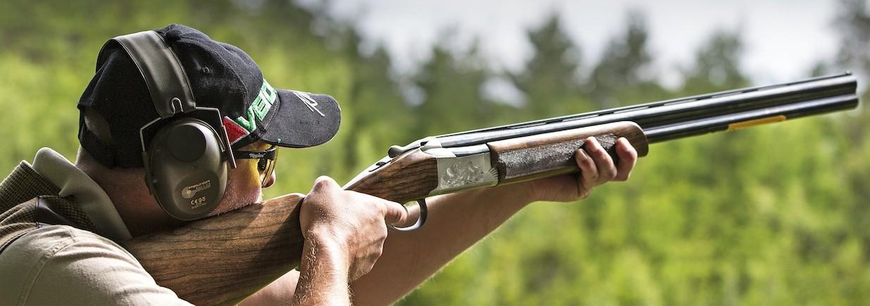 Sju bilder till vapentest Browning