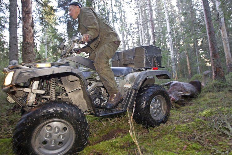 En fyrhjuling har många användningsområden.