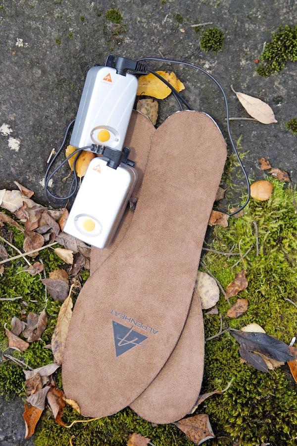 värmesulor till skor