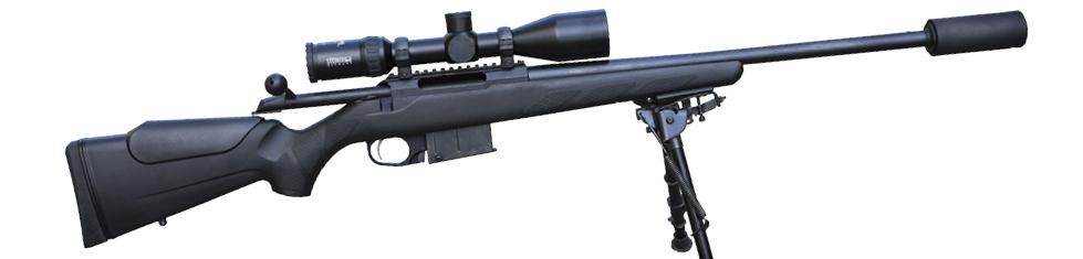 jakt med rifle