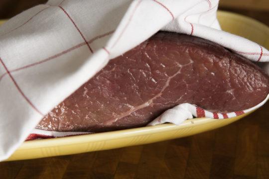 Släpp köttet fritt och låt det andas