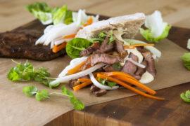Testa vildsvin med asiatiska kryddor – ni måste våga