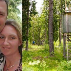 Jägaren friade med ett annorlunda krav – nu gifter de sig!