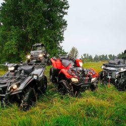 Nya arbetshästar för skog och mark hårdtestas.