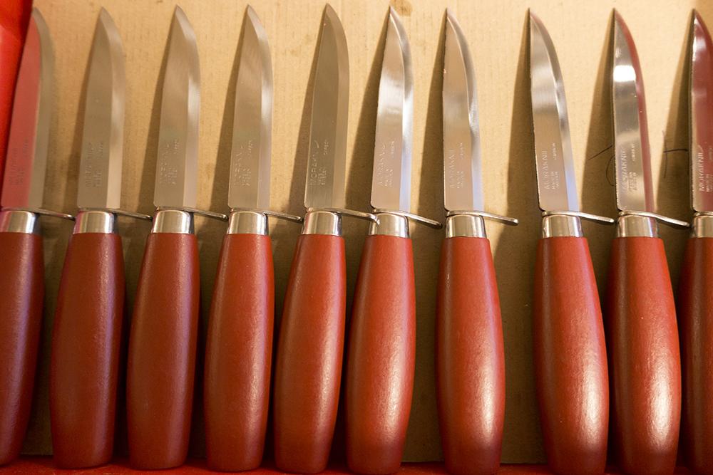 Dem klassiska Morakniven tillverkas än idag.